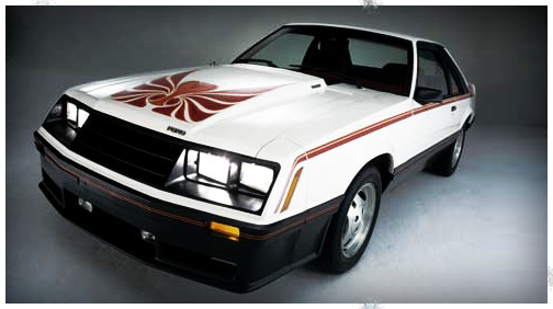 1980 Mustang Cobra - polar white