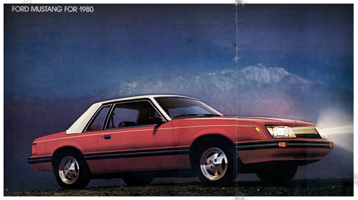 1980 Mustang Ghia