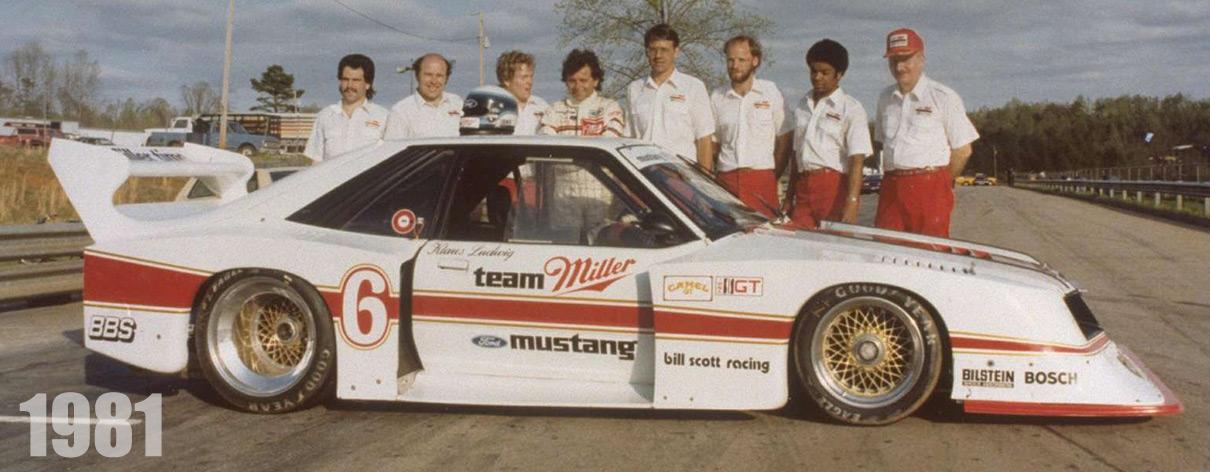 1981 Mustang IMSA racing