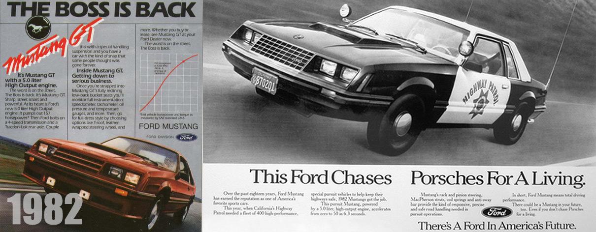 1982 Mustang SSP