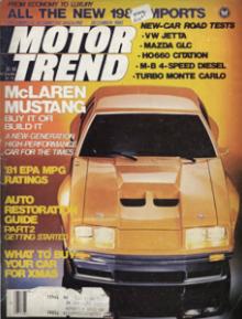1980 mclaren m81 mustang rarest mustang ever made mustanglab com rh mustanglab com 1980 Ford Mustang Fox Body 1980 Ford Mustang Hatchback