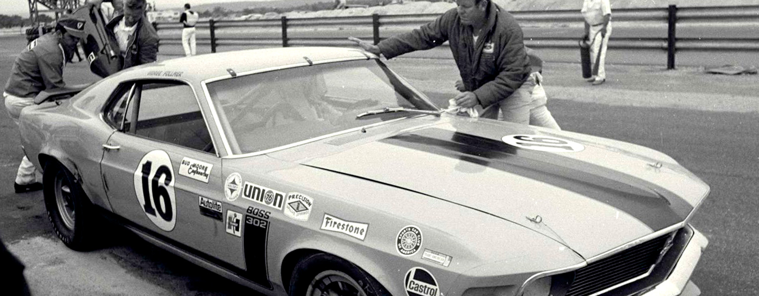 1970 Would prove to be the year Ford reasserted the Mustang atop the podium for SCCA with the Boss 302