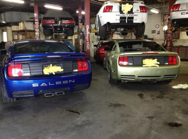 Pair of SALEEN Mustangs