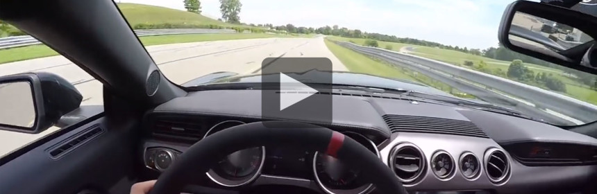 Take a few laps in the Shelby GT350R