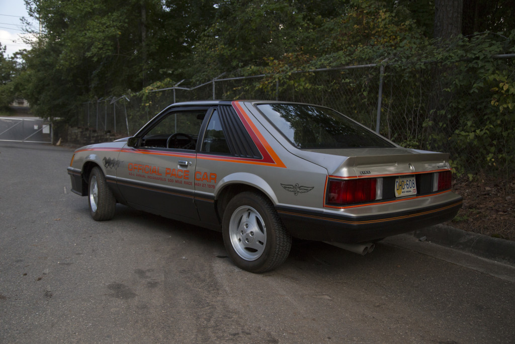 1979 Mustang Pace Car - 2,700 Original Miles - 3/4 rear