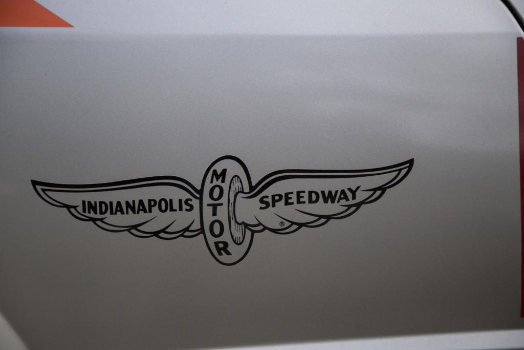 1979 Mustang Pace Car Indianapolis Motor Speedway logo