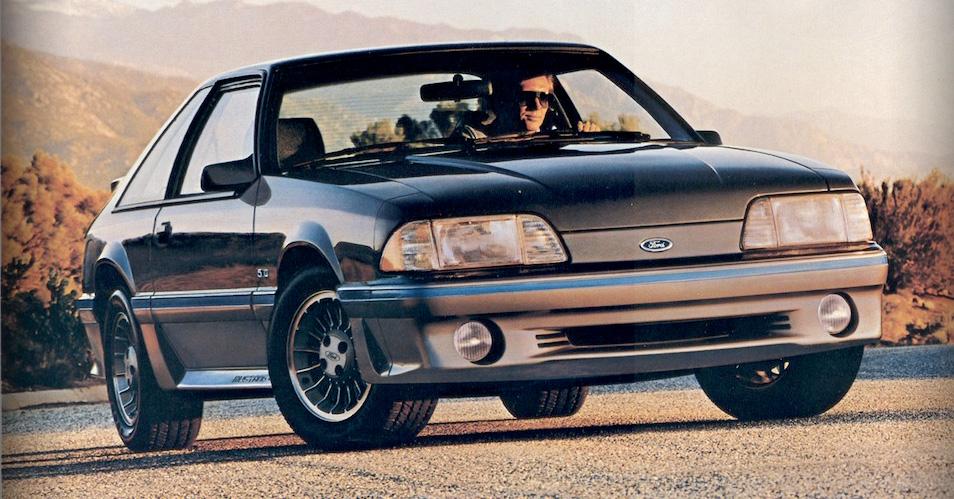 1987 Mustang GT smoke poly